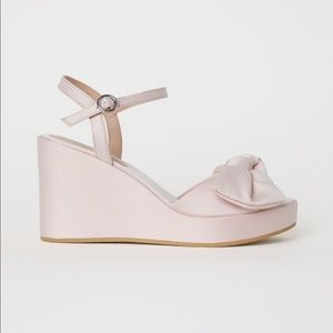 H&M Shoes - H&M wedge sandals